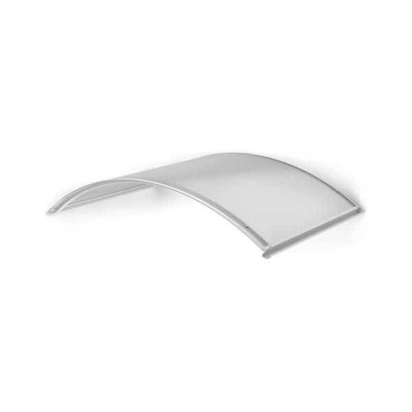 LanitPlast TOPAZ RAL9016 130/70 - vchodová stříška nad dveře, 130x70 cm, bílá
