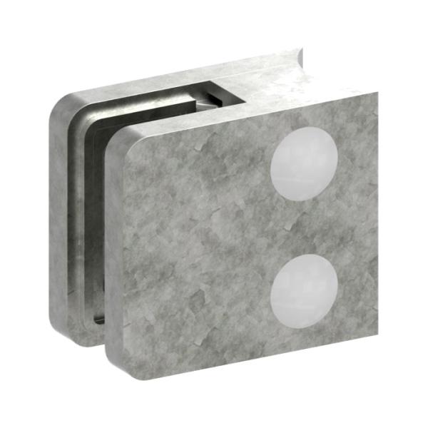 1133-ZN0 - ZAMAK držák skla na trubku pr. 33,7 mm - model 11, pro nerezové zábradlí
