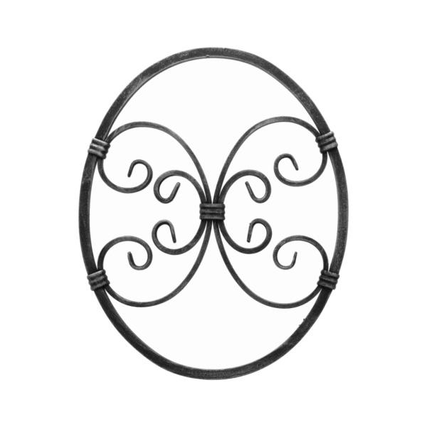 PSG 13.006 - ozdobný ornament pro kované ploty, brány a mříže