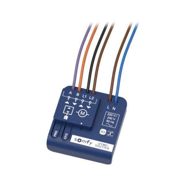 Somfy Izymo Shutter receiver io – přijímač pro ovládání roletového pohonu io vysílači