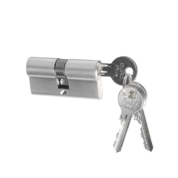 Stavební cylindrická vložka 30/30 mm Richter Euro Plus, 3x prodloužený klíč
