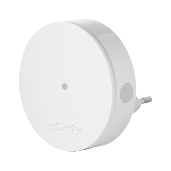 Somfy Radio Extender – zesilovač rádiového signálu pro pokrytí mezi doplňky Somfy Protect