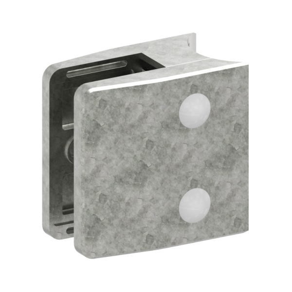 3542-ZN0 - ZAMAK držák skla na trubku pr. 42,4 mm - model 35, pro nerezové zábradlí
