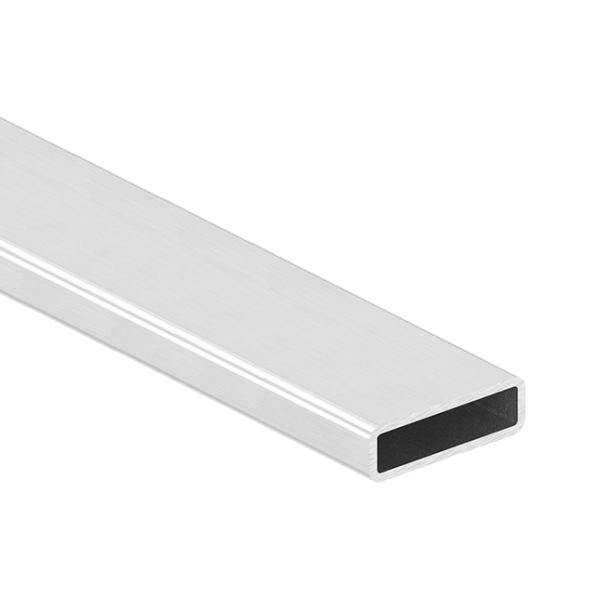 Nerezové madlo zábradlí - hranol profilu 40x10 x 1,5 mm brus, cena za 3 m - prodej po 3 m