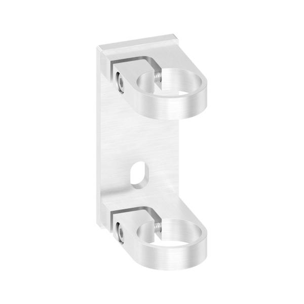 50146-240 - nerezová kotvicí příruba pro trubku pr. 42,4 mm, boční, pro nerezové zábradlí