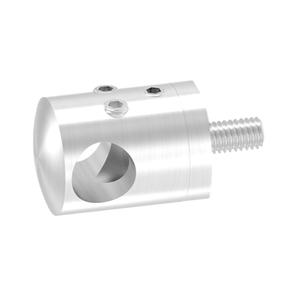 Nerezová spojka prutové výplně zábradlí - prutů pr.12 mm 50406-240ASTO průběžná, na hranol, brus