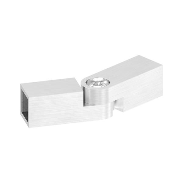 50439-240 - nerezová spojka prutů pr.12x12 mm, flexi, úhel ±110°, pro nerezové zábradlí