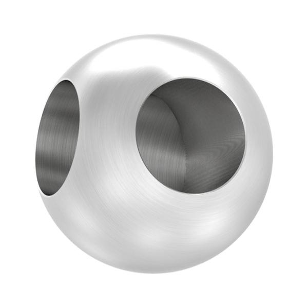 Nerezová spojka prutové výplně zábradlí - prutů pr.12 mm 51025-240S2 brus, úhel 90°, kulatá