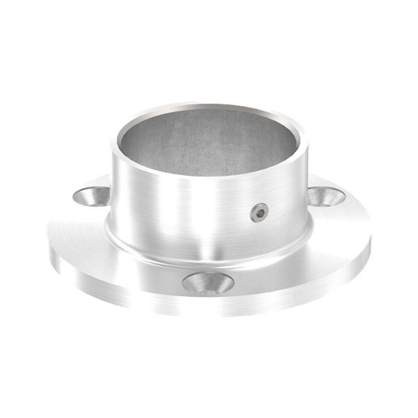 Nerezová kotvící příruba zábradlí pro pr.33,7 mm 54142-240 vrchní i boční kotvení, pr.70 mm