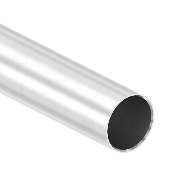 55130-240_1m - nerezová trubka pr. 42,4 x 2 mm, AISI 304 brus, pro madlo a sloupek nerezového zábrad