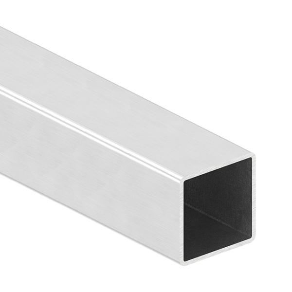 Nerezové madlo zábradlí - hranol profilu 40x40 x 2 mm brus, cena za 1 m - prodej po 1 m
