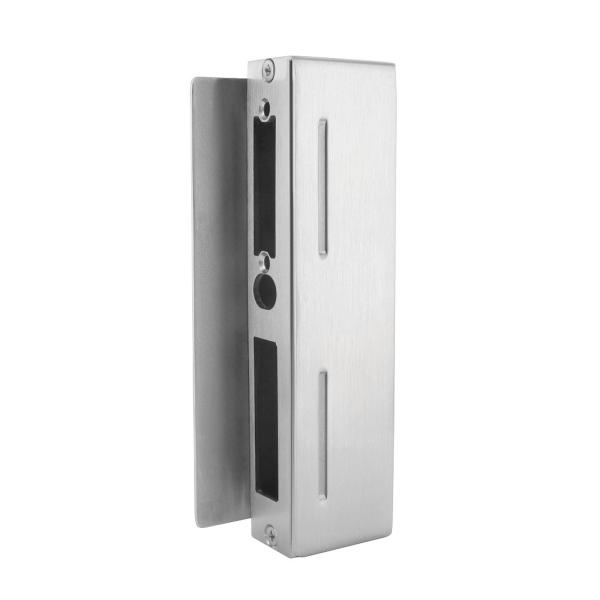 Nerezový protikus zamykání branky 59109-240, lze použít s elektrickým zámkem