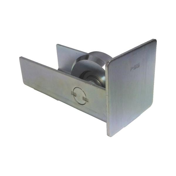Dojezdové kolečko posuvné brány 60.011.80 pro vodící profil pr. 80x80 mm, s krytkou
