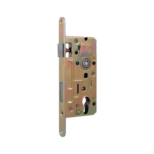 63.218 - Zadlabací zámek pro branku, vrata a dveře, rozteč 90 mm, zádlab 77 mm