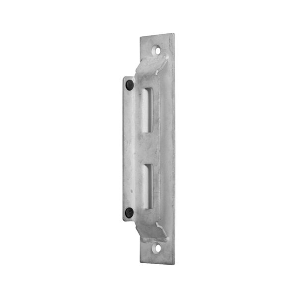 63.226 - Dorazová lišta pro bránu a vrata, 260x50 mm