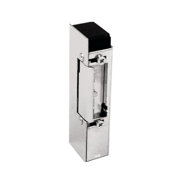 63.329 - zadlabací elektromechanický zámek s pamětí a aretací, 12 V AC/DC, pro branku a dveře