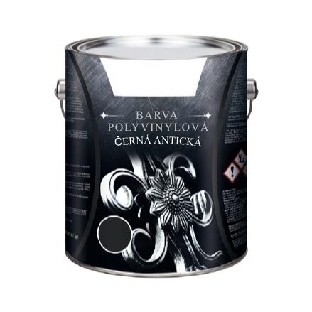 70.002 - Černá antická barva pro umělecké kovářství, 1 litr