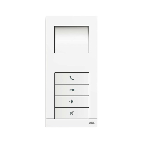 ABB 83210 AP-624-500-02 - domovní hands-free telefon ABB Welcome Midi, bílý