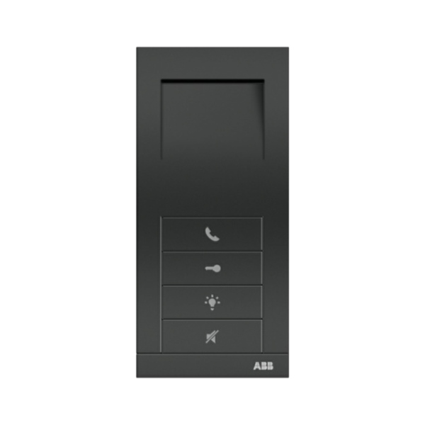 ABB 83210 AP-681-500-02 - domovní hands-free telefon ABB Welcome Midi, antracit