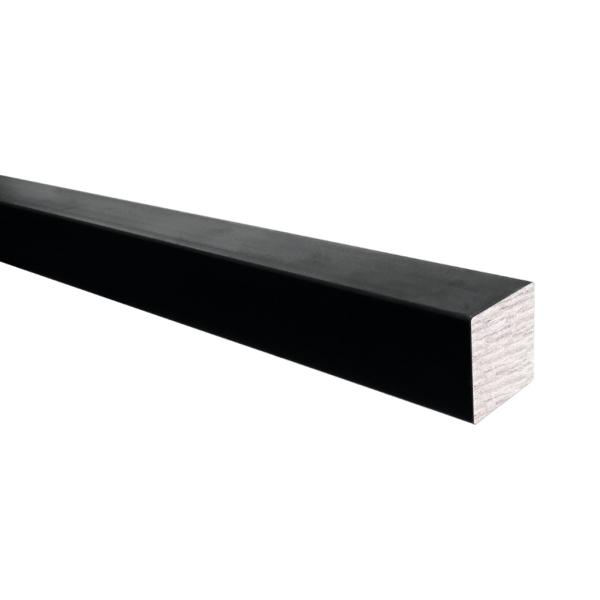 Hladký čtyřhran pr.12x12 mm plný, bez povrch. úpravy, pro vrata, kované ploty a brány, cena za 3m - prodej po 3m