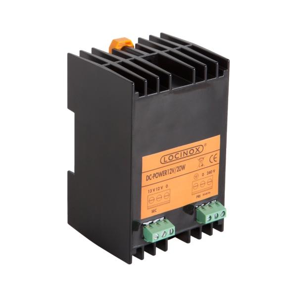LOCINOX DC POWER 12V 20W - napájecí zdroj, 12 / 13 V DC, 20 W