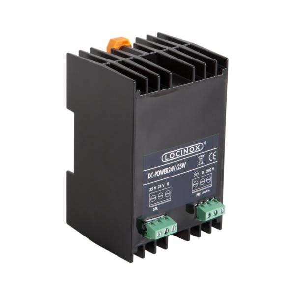 LOCINOX DC POWER 24V 25W - napájecí zdroj, 24 / 25 V DC, 25 W