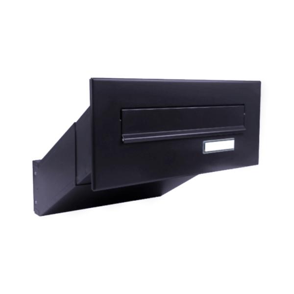 DOLS D-041 RAL7016 - poštovní schránka k zazdění, se jmenovkou, antracit