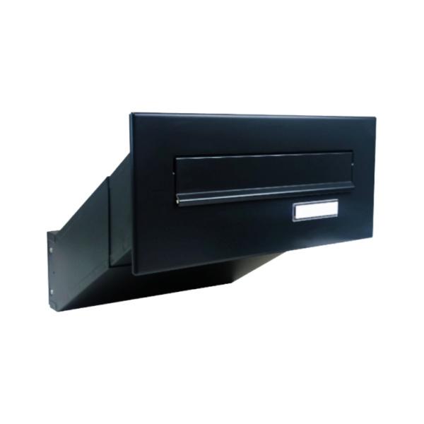 DOLS D-041 RAL9005 - poštovní schránka k zazdění, se jmenovkou, černá