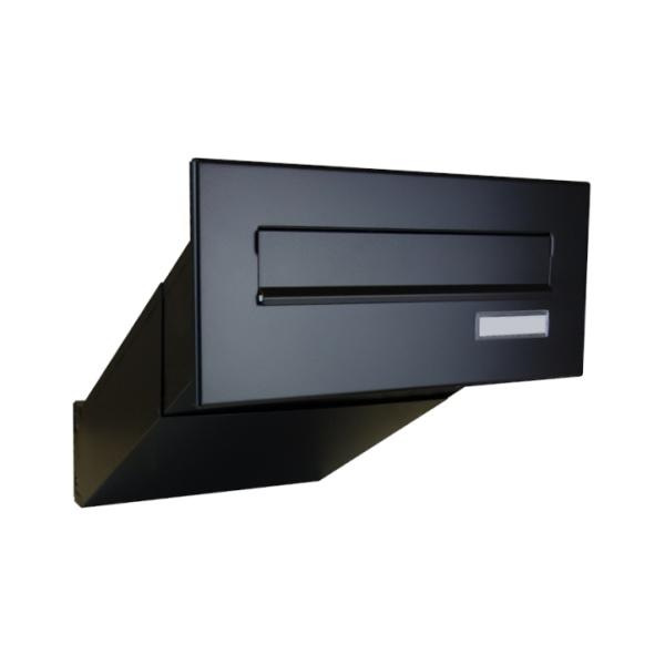 DOLS D-042 RAL9005 - poštovní schránka k zazdění, se jmenovkou, černá