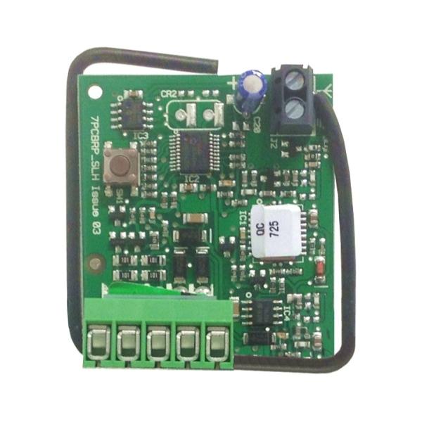 Interní přijímač - rádiová karta pro pohon brány a vrat GENIUS JA-335-2K, 2-kanálový 868 MHz