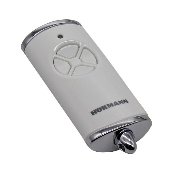 HORMANN HSE 4 BS 4511567 - dálkový ovladač pohonu brány a vrat, 4-kanálový 868 MHz BiSecur, lesklý b