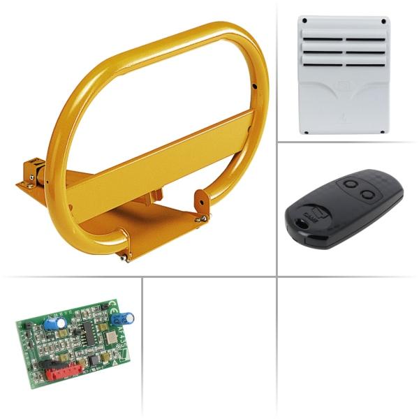 Větší automatická parkovací zábrana pro jednotlivá místa CAME UNIPARK-L základní set