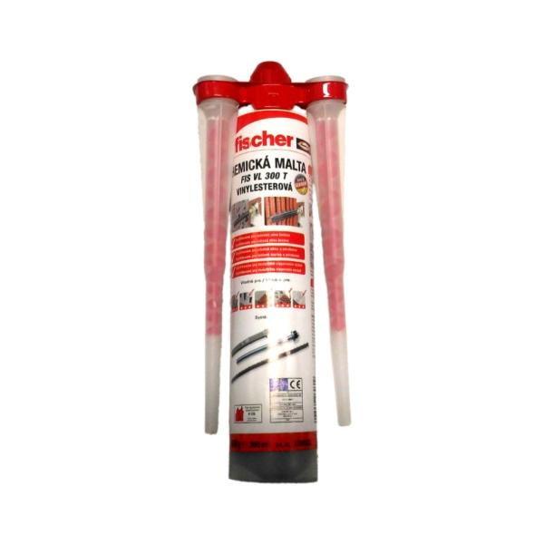 Fischer VL-300T-HS Chemická kotva, 300 ml, i pro zimní použití, chemická malta, vinylesterová