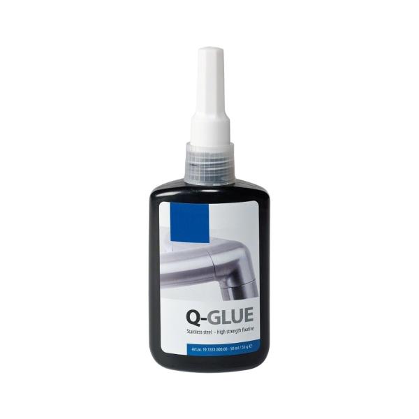 Lepidlo pro nerezové zábradlí a kov Q-GLUE, 55 g
