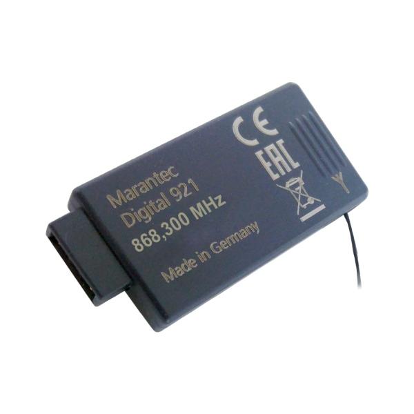 Marantec Digital 921 - interní přijímač k pohonu brány a vrat 868 MHz bi-linked, obousměrný