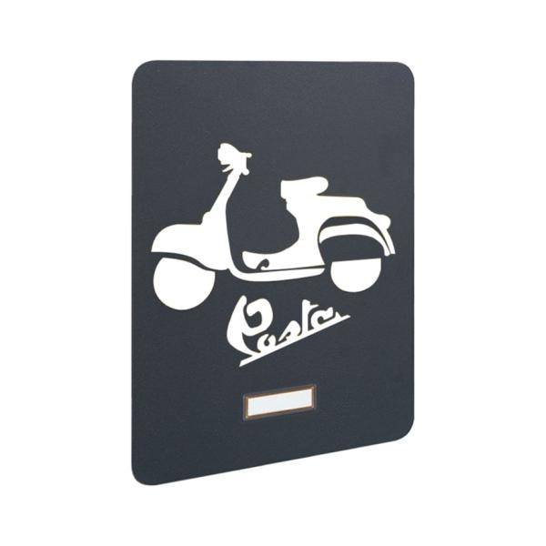 MIA Motorbike - výměnný kryt pro poštovní schránky MIA box, motocykl