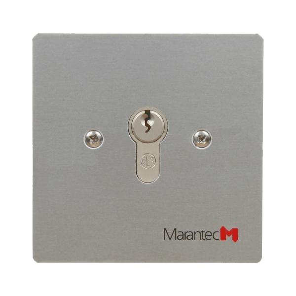 Klíčový spínač pod omítku - ovladač pohonu brány a vrat MARANTEC Command 314