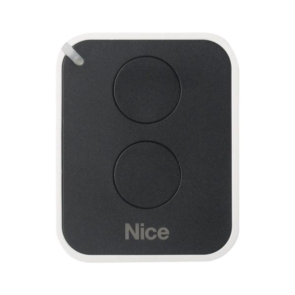Dálkový ovladač pohonu brány a vrat NICE ON2E plovoucí kód, 2-kanálový 433 MHz, nahrazuje sérii ON a FLOR