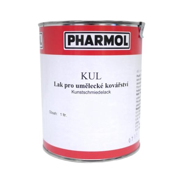 Šedá světlá litinová barva - lak pro umělecké kovářství Pharmol Kul Glimmer-guss, 1 litr