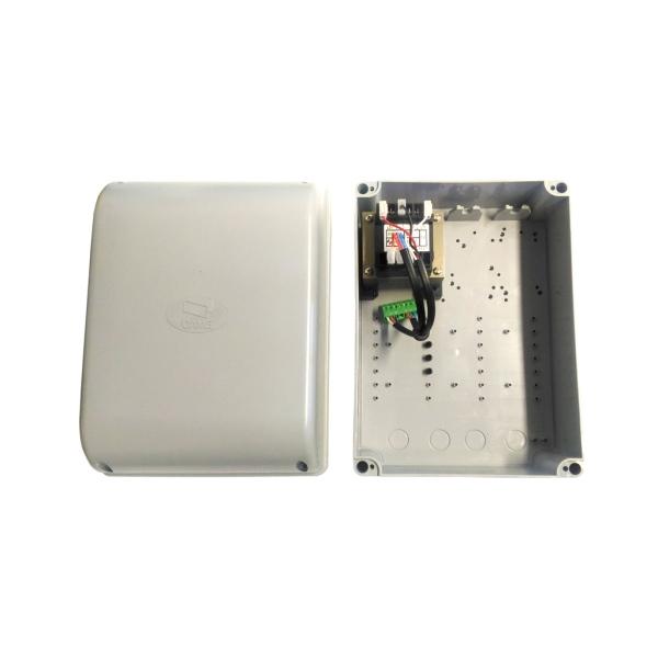 CAME S4655 - krabice s transformátorem pro řídící jednotky značky CAME, pro křídlové brány