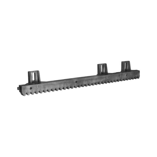 Vodící hřeben nesené brány S/6 plastový s ocelovým jádrem 1m, tloušťka 20 mm