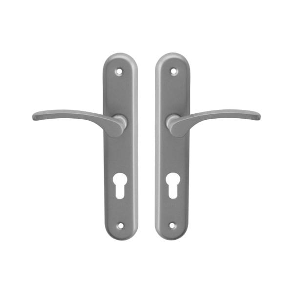 Dveřní kování VIOLA-LAURA komplet klika + klika, rozteč 72 mm, pro dveře