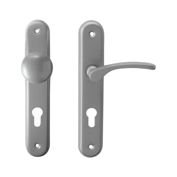 Dveřní kování VIOLA-LAURA komplet pravá klika + koule, rozteč 72 mm, pro dveře