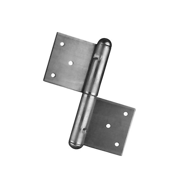 Pant na dveře a vrata - zadlabací závěs 150P pravý, výška 150 mm