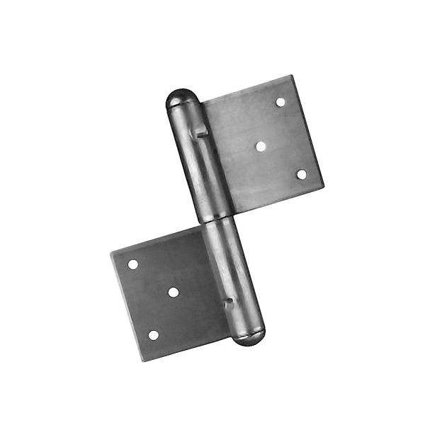 Pant na dveře a vrata - zadlabací závěs 150L levý, výška 150 mm