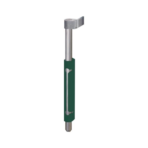 LOCINOX VSA 6005 - mechanická zástrč pro křídlové brány a vrata, pr. 20 mm, hliníková, zelená
