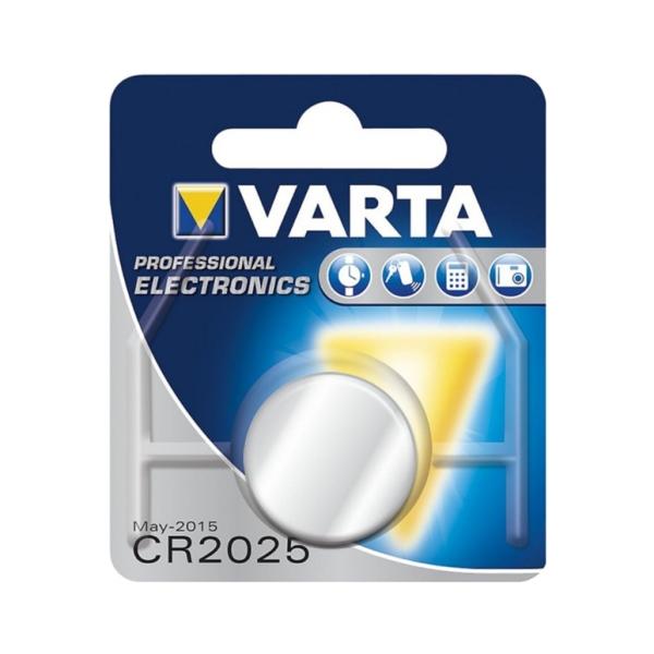 Knoflíková Li-Mn 3V baterie VARTA CR2025 pro dálkový ovladač pohonu brány a vrat Beninca