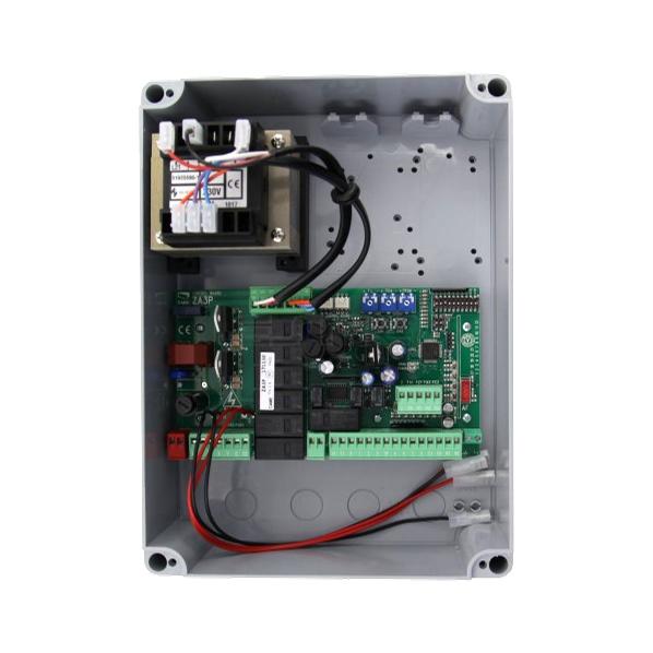 CAME ZA3P-K - ovládací centrum pro pohon 2-křídlové brány, rozšířené funkce, řídicí jednotka, náhrada za ZA3N