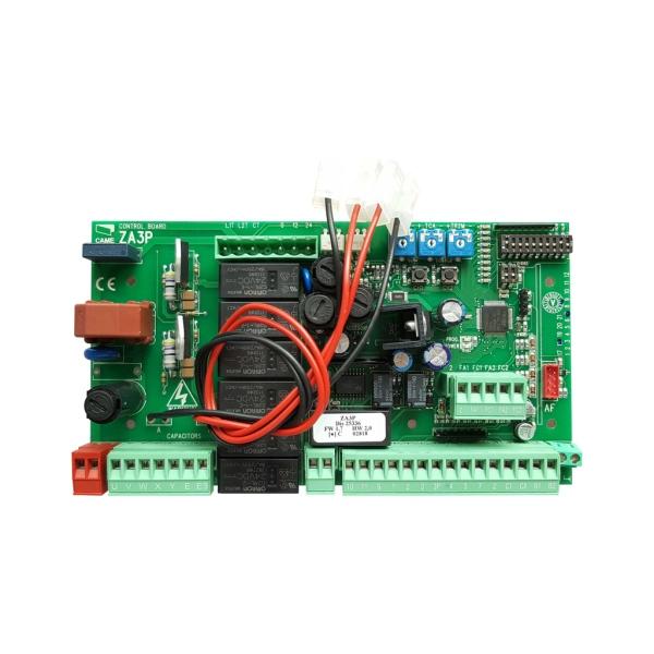 CAME ZA3P - řídicí jednotka pro pohony CAME, rozšířené funkce, pro křídlové brány, náhrada za ZA3N