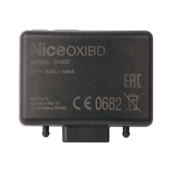 Nice OXIBD - interní přijímač k pohonu brány a vrat, 433 MHz, obousměrný